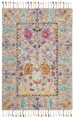 Safavieh Morgan 453 3' X 5' Gray Wool Rug - 2