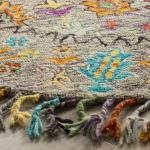 Safavieh Morgan 453 6' X 6' Round Gray Wool Rug - 3