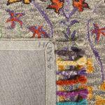 Safavieh Morgan 453 6' X 6' Round Gray Wool Rug - 4