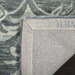 Safavieh Blue Wool Rug - 3