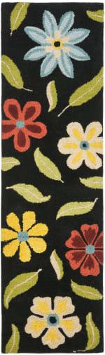 Safavieh Black Wool Rug - 2