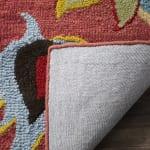 Safavieh Orange Wool Rug - 4