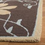 Brown Wool Rug - 1