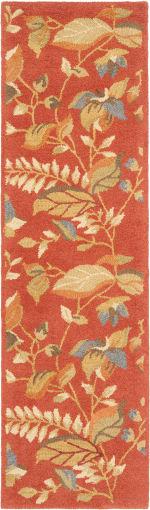 Safavieh Orange Wool Rug - 7