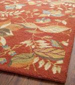 Safavieh Orange Wool Rug - 8