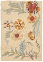 Safavieh Tan Wool Rug - 1