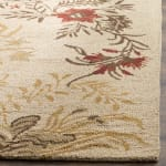 Safavieh Tan Wool Rug - 2