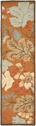 Safavieh Orange Wool Rug - 2
