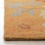 Safavieh Orange Wool Rug - 3