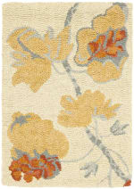 Safavieh Tan Wool Rug - 2