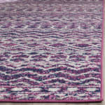 Safavieh Pink Polypropylene Rug - 4