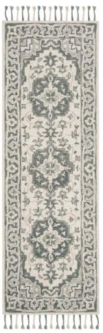 Safavieh Gray Wool Rug - 5
