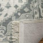 Safavieh Gray Wool Rug - 6