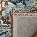 Safavieh Blue Wool Rug - 8