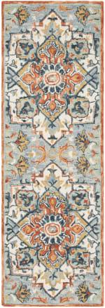 Safavieh Blue Wool Rug - 7