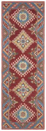 Red Wool Rug - 3
