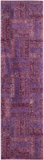 Safavieh Purple Polypropylene Runner  Rug - 2