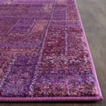 Safavieh Purple Polypropylene Runner  Rug - 3