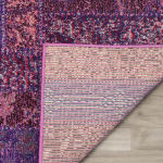 Safavieh Purple Polypropylene Runner  Rug - 4