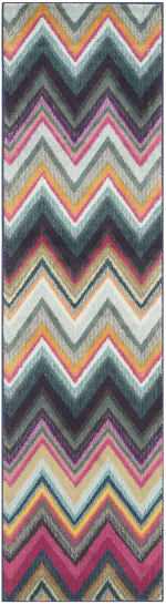 Safavieh Multicolored Polypropylene Rug - 2