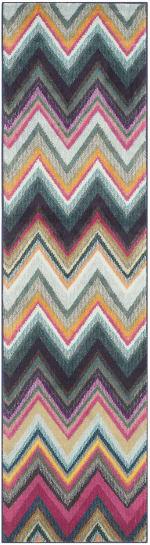 Safavieh Multicolored Polypropylene Rug - 5