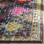 Multicolored Polypropylene Rug - 6