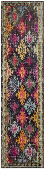 Multicolored Polypropylene Rug - 4