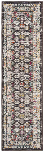 Brown Polypropylene Rug - 3