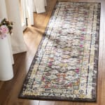 Brown Polypropylene Rug - 1