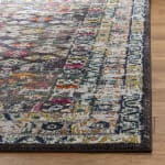 Brown Polypropylene Rug - 2