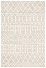Safavieh Tan Wool Rug 4' x 6' - 2