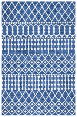 Safavieh Navy Wool Rug - 2