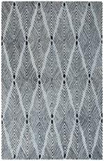 Essence Blue Wool Rug - 2
