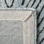 Essence Blue Wool Rug - 4