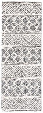 "Essence Ivory Wool Rug 2'25"" x 7' - 2"