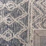 "Essence Ivory Wool Rug 2'25"" x 7' - 4"