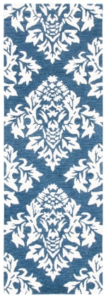 Essence Blue Wool Rug - 2