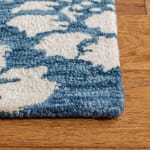 Essence Blue Wool Rug - 3