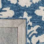 Essence Blue Wool Rug - 4