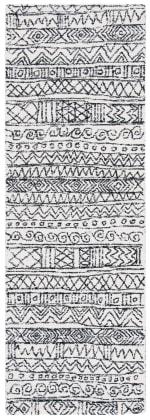 Safavieh Essence Ivory Wool Rug 2.5' x 9' - 2