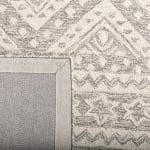 Essence Gray Wool Rug 5' Round - 4