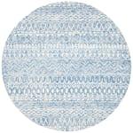Essence Blue Wool Rug 5' Round - 2