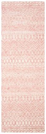 "Essence Pink Wool Rug 2'5"" x 4' - 2"
