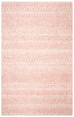 Essence Pink Wool Rug 5' x 8' - 2