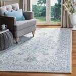 Safavieh Essence Blue Wool Rug 9' x 12' - 1