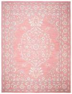 Essence Pink Wool Rug 8' x 10' - 3