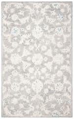Essence Gray Wool Rug 5' x 8' - 3