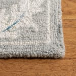 Essence Gray Wool Rug 5' x 8' - 2