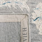 Essence Gray Wool Rug 5' x 8' - 4