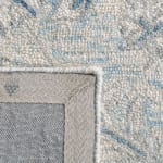 Essence Blue Wool Rug 5' Round - 4